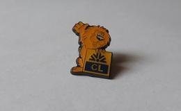 Pin's Banque / Crédit Lyonnais (mascotte Lion époxy) - Banques