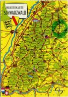 DEUTSCHLAND  SCHWARRZWALD  Wanderkarte  Sonnenbühl - Carte Geografiche