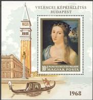 Hongrie Hongarije Ungarn 1968  Yvertn° Bloc 70 *** MNH Cote 8,00 Euro - Blocs-feuillets
