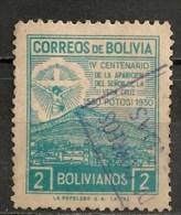 Timbres - Amérique - Bolivie - 1950 - 2 Bs - - Bolivia