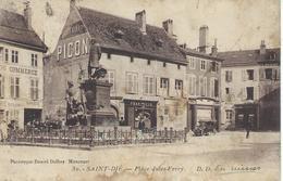 DPT 88 SAINT DIÉ Place Jules Ferry CPA Dans Son Jus, Soldée - Saint Die