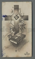 ES5200 SS. Sacramento ORDINE SACRO POVERTA CASTITA OBBEDIENZA EB 685 Santino - Religione & Esoterismo