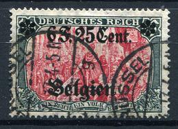 42448) DT.BESETZUNG Belgien # 25 I Gestempelt GEPRÜFT Aus 1916, 70.- € - Occupazione 1914 – 18
