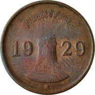 Monnaie, Allemagne, République De Weimar, Reichspfennig, 1929, Berlin, TTB+ - [ 3] 1918-1933 : República De Weimar