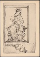 Matthew Paris - Virgin And Child, C.1920s - British Museum Postcard - Pittura & Quadri