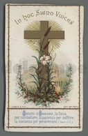 ES5201 SS. Sacramento LA CROCE TURGIS ET FILS Santino - Religione & Esoterismo