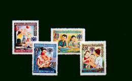 Laos - MICHEL Nr. 478/481A Postfrisch / **  [U8-LAO161] - Laos