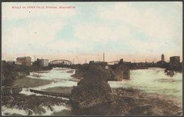 Middle Or Upper Falls, Spokane, Washington, C.1905-10 - Albert Hahn Co Postcard - Spokane