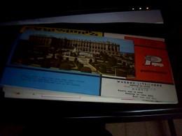 Depliant Touristique  Plan  De  Madrid Pub Pullmantour Wagons Lits Cook   Annee  1969 - Roadmaps