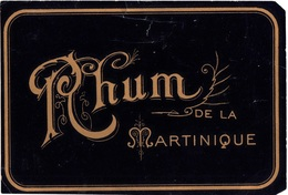 Ancienne Etiquette De Rhum - Rhum