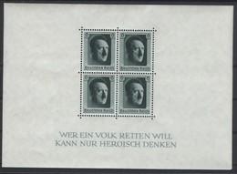 Deutsches Reich Block 7 Postfrisch - Deutschland