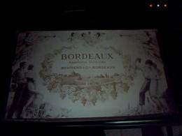 Grande Etiquette De Vin Non Utilisee Bordeaux Aoc Behrend Et Cie 20x 14  Cm   Env - Bordeaux