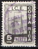 COSTARICA - 1967 - PROGRAMMI PER L'ELETTRIFICAZIONE DEL COSTARICA - USATO - Costa Rica