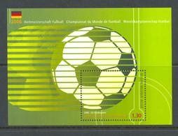 Blok 131 Voetbal POSTFRIS** 2006 - Blocks & Sheetlets 1962-....