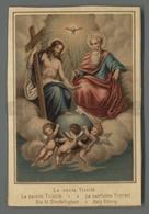 ES5217 LA SANTA TRINITA HOLY TRINITY TRINIDAD Santino - Religione & Esoterismo