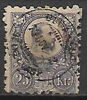 HONGRIE   -   1871 .   Y&T N° 12 Oblitéré. - Ungheria