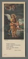 ES5218 ANGELO CUSTODE GUECINO FOTO ALINARI ED. PRESBYTERIUM PADOVA Santino - Religione & Esoterismo