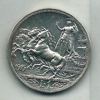 REGNO L 1 QUADRIGA 1915 - Monnaies & Billets