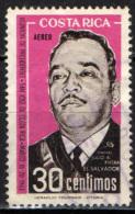 COSTARICA - 1963 - COLONNELLO JULIO A. RIVERA (EL SALVADOR) - USATO - Costa Rica