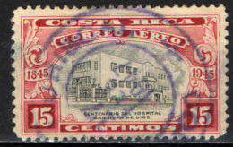 COSTARICA - 1946 - CENTENARIO DELL'OSPEDALE SAN JUAN DE DIOS - USATO - Costa Rica
