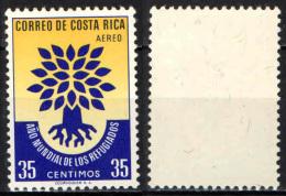 COSTARICA - 1960 - ANNO MONDIALE DEL RIFUGIATO - MH - Costa Rica