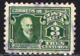 COSTARICA - 1924 - DON RODRIGO ARIAS - USATO - Costa Rica