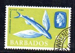 T760 - BARBADOS 1965 , Ordinaria  Yvert N. 254 Usato - Barbados (1966-...)