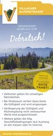 Österreich Villach Villacher Alpenstrasse Dobratsch Eintrittskarte / Einzelkarte 2018 - Tickets - Vouchers
