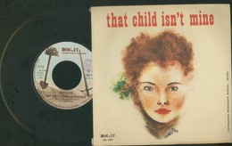 NOSTALGY -IT SNOWED ON YESTERDAY -THAT CHILD ISN'T MINE -DISCO VINILE 1977 - Dischi In Vinile