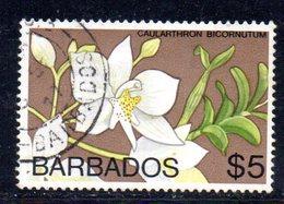 T805 - BARBADOS 1974 , Ordinaria  Yvert N. 387 Usato - Barbados (1966-...)