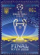 Used Ukraine 2018,UEFA Champions Football Final, Kyiv 1V. - Ukraine
