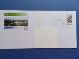 PAP - Enveloppe Prêt à Poster - Repiquage Aveyron - Pays D'émotion - Roquefort - Tampon 4.8.2006 - Postal Stamped Stationery