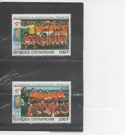 """CENTRAFRIQUE - Football - """"Espana 82"""" Coupe Du Monde De Football En Espagne - Equipes Des Pays-Bas Et D'Espagne - Coupe - Central African Republic"""