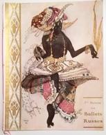 Comoedia Illustré 7 Saison Des Ballets Russes 1912 Brochure Originale - IIllustrazioni Di Leon Bakst - Bücher, Zeitschriften, Comics