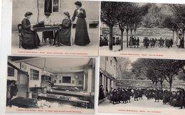 """LOT DE 14 CARTES """"INSTITUTION MILLET-DUCLOUX (NEVERS) - Postcards"""