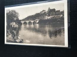 36 Le Blanc  1936 Lavandieres Bateau Lavoir Barque Arche Du Pont Sur La Creuse Chateau - Le Blanc