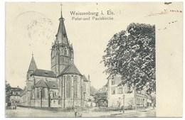 CARTE POSTALE / WEISSENBURG / PETER UND PAULSKIRCHE 1907 - Weissenburg