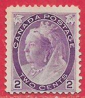 Canada N°65 2c Violet 1898-1903 (*) - Neufs