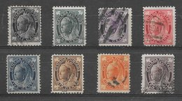 Canada N°54 à 61 1897-98 O - Used Stamps