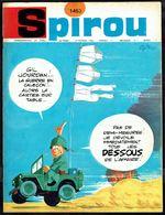 "SPIROU N° 1453 -  Année 1966 - Couverture ""GIL JOURDAN"" De Maurice TILLIEUX. - Spirou Magazine"