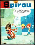 """SPIROU N° 1452 -  Année 1966 - Couverture """"BOULE Et BILL"""" De ROBA. - Spirou Magazine"""