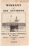 WISSANT Et Ses Environs(Wissant-Tardinghen-Gris-Nez).40 Pages.1935.pages Publicitaires - Picardie - Nord-Pas-de-Calais
