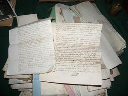1 LOT ( PLUS DE 180 ) D ACTES NOTARIES :  MARIAGES , ACHATS , VENTES ETC... - Manuscrits