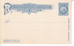 Bolivien ** 23 Als Ganzsache 11 Sterne,  38 Als Ganzsache 9 Sterne Blank Jahr 1887, 1894 - Bolivien