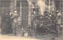 75001- PARIS- MAISON DE MOLIERE- PENDANT LES INONDATION DE PARIS 1910 ( POMPIERS ) - District 01