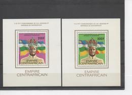 CENTRAFRIQUE - Empereur BOKASSA 1er, Couronnement - Feuillets - Central African Republic