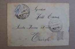 STORIA POSTALE ITALIA ITALY PRIGIONIERO CONFINATO POLITICO INTERNATO A COSENZA CALABRIA 1939 - 1900-44 Victor Emmanuel III