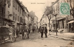 BELLEY  -  Rue Saint-Martin  -  Belle Animation - Belley