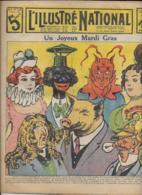 L' Illustré Nationale N° 6 9 Février  1913  Un Joyeux Mardi-Gras - Sonstige
