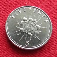 Gibraltar 5 Pence 2016 Gibilterra - Gibraltar